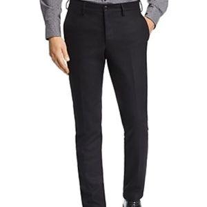 Michael Kors Slim Fit Pants Classic Black Trousers